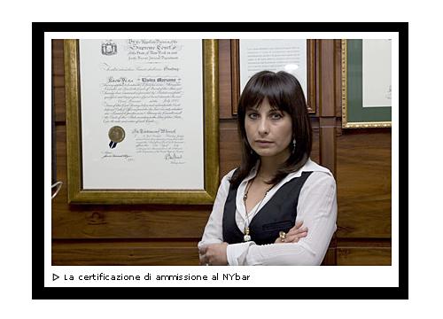 Galleria foto Marzano Avvocati Associati, Elvira con certificazione